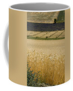 A View Of A Summer Field Of Wheat Coffee Mug