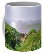 A View Of Ailsa Craig And The Isle Of Arran Coffee Mug