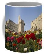 A View Of Flowers Growing Coffee Mug