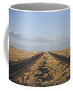 A View Of Interstate 40, Arizona Usa Coffee Mug