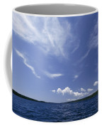 A View Of Lake Superior And Sky At Isle Coffee Mug