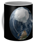 A View Of The Earth With The Full Coffee Mug