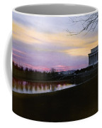 A View Of The Lincoln Memorial Coffee Mug