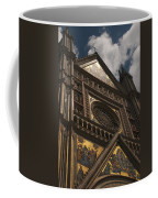 A View Upward At The Duomo Di Orvieto Coffee Mug