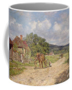 A Village Scene Coffee Mug