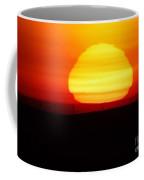 A Wavering Sunrise Coffee Mug