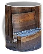 A Weathered Bench Coffee Mug