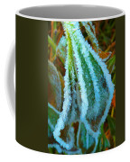 A White Trimmed Coat  Coffee Mug
