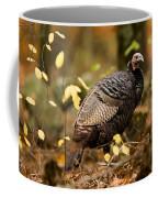 A Wild Turkey Hen In The Woods Coffee Mug