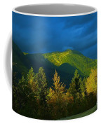 A Winding Autumn Road  Coffee Mug