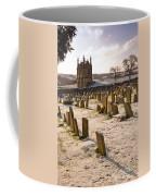 A Winter Graveyard Coffee Mug