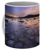A Winter Sunset At Evenskjer In Troms Coffee Mug by Arild Heitmann
