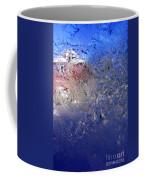 A Wintry Icy Window Coffee Mug