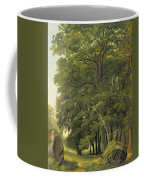A Wooded Landscape  Coffee Mug