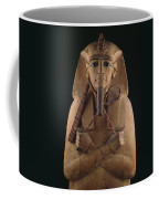 A Wooden Coffin Case Of The Pharaoh Coffee Mug
