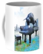 A World Of Art And Music Coffee Mug