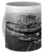 A Yokosuka Naval Tugboat Prepares Coffee Mug