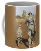 A Young Boy Joins His Squad Leader Coffee Mug