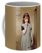 A Young Girl In The Classroom Coffee Mug