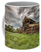 Abandoned Farm Buildings Saskatchewan Coffee Mug