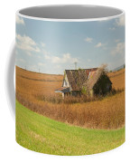 Abandoned Farmhouse In Field 2 Coffee Mug