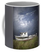 Abandoned Fishing Boat In Washington State Coffee Mug