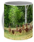 Abandoned Hay Rake 2 Coffee Mug