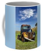 Abandoned Rusty Truck Coffee Mug