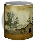 Abandoned Tobacco Barn Coffee Mug by Carla Parris