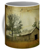 Abandoned Tobacco Barn Coffee Mug