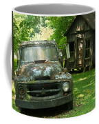 Abandoned Truck At Post Office Coffee Mug
