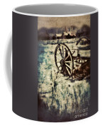 Abandoned Wagon By Old Ghost Town. Coffee Mug