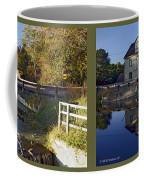 Abbotts Pond - Gently Cross Your Eyes And Focus On The Middle Image Coffee Mug