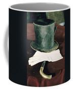 Aberaham Lincolns Hat, Cane And Gloves Coffee Mug