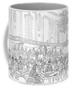 Abolition Cartoon, 1859 Coffee Mug