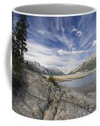 Abraham Lake Created By Bighorn Dam Coffee Mug