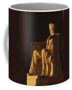 Abraham Lincoln Statue In Lincoln Coffee Mug