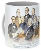 Abraham Lincolns Cabinet Coffee Mug by Granger