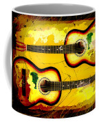 Abstract Acoustic Coffee Mug