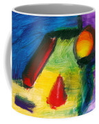 Abstract - Acrylic - Primitives Coffee Mug by Mike Savad