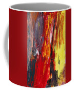 Abstract - Acrylic - Rising Power Coffee Mug by Mike Savad