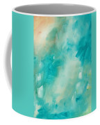 Abstract Art Colorful Bright Pastels Original Painting Spring Is Here II By Madart Coffee Mug