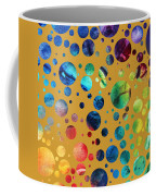 Abstract Art Digital Pixelated Painting Image Of Beauty Of Color By Madart Coffee Mug