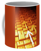 Abstract Background Coffee Mug by Carlos Caetano