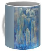 Abstract Blue Ice Coffee Mug