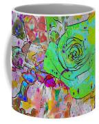 Abstract Childlike Rose Coffee Mug