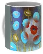 Abstract Colorful Poppies Coffee Mug