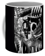 Abstract Composition Of Kitchen Utensils Coffee Mug