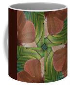 Abstract Curves Coffee Mug by Deborah Benoit
