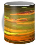 Abstract Eucalyptus 2 Coffee Mug